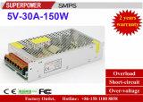 5V 30A 150W Schaltungs-Stromversorgung aufgehoben für Drucker 3D
