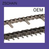 中国の販売のための頑丈な耐久力のある袖のローラーのスラットのコンベヤーの鎖
