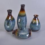 Botellas difusas de cerámica satinadas reactivas para la fragancia casera