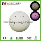 Neue weiße keramische Kugel mit der Farbe, die LED-Licht für Hauptdekoration ändert