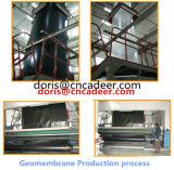 Trazador de líneas Geomembrane del HDPE para la charca de pescados