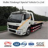 camion di rimorchio piano di 7ton FAW Euro3 idraulico