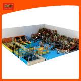 Оборудование спортивной площадки цветастой зрелищности крытое ягнится мягкая крытая спортивная площадка