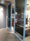 Vidrio decorativo del flotador gris oscuro/europeo del espesor variado (C-UG)