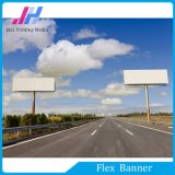 Flex Banner van pvc Frontlit van de premie de Witte Glanzende voor Commerciële Bevordering