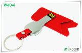 1 년 보장 (WY-L37)에 최신 판매 가죽 키 USB 지키