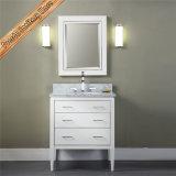 Тщета ванны шкафа тщеты ванной комнаты твердой древесины Fed-1262 белая