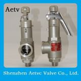Válvula de seguridad del acero inoxidable 316 de la marca de fábrica de Aetv