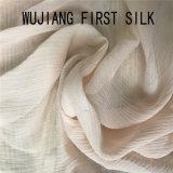 10mm anilha ondulada Chiffon de seda, em tecido de seda de 8 mm anilha ondulada Ggt Fabric, anilha ondulada Georgette tecido de seda