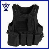 Armee-schwarzes Militärgeräten-taktische Weste (SYSG-223)