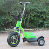 3車輪の電気スクーター500Wの観光の手段のZappyスクーターのショウガ