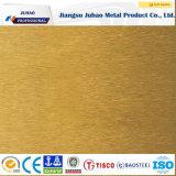 Placa de acero inoxidable coloreada decorativa 201 202 304