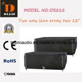 Ds212 bidirektionale Zeile Reihen-Doppeltes 12 Zoll-Lautsprecher