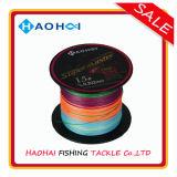 Starke geflochtene Fischerei-Zeile Qualitätshochseefischerei-Gerät-Mehrfarben10 Meter-einer Farbe