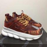 Réaction en chaîne de l'amour sneakers sport Fashion designer de luxe chaussures occasionnel formateur Link-Embossed léger unique avec sac à poussière