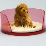 아주 귀여운 아크릴 강아지 침대