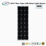 Novo tipo 2017 luz de rua solar completa 50W do diodo emissor de luz