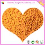 Masterbatch amarillo para la resina del animal doméstico