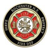Monete del servizio del fuoco per la promozione
