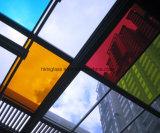 着色された染められたガラスによって強くされるガラスを取り除きなさい