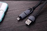 Универсалия 2 в 1 микро- кабеле Sync данным по USB для iPhone для Android
