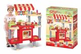 Crianças fingem jogar brinquedo de cozinha brinquedo de plástico para crianças (H0535164)