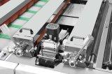 Tipo vertical completamente automático máquina que lamina de la película del PVC BOPP del papel de Lfm-Z108L y del animal doméstico de la hoja con el cuchillo de cadena