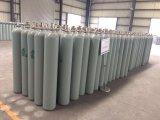 O cilindro de hélio de alta pressão de capacidade 40L de 150 bar de 219 mm de diâmetro