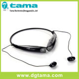 Hbs-730 inalámbrico auriculares estéreo Bluetooth Negro corbata roja para Smartphone