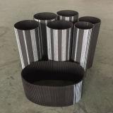 Cinghia di sincronizzazione di gomma industriale/cinghie sincrone 420 425 450 460 475-5m