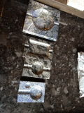 Каменный Ashtray сигар Ashtray гранита Onyx Azul Бахи подарка искусствоа/статьи