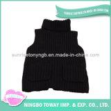 Vêtements en tricot pour bébés Veste en col roulé Gilets pour garçon noir