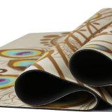 Циновка йоги замши естественной циновки йоги вала резиновый Non-Slip с изготовленный на заказ печатание