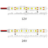 30 bande flexible de LEDs/M SMD 1210 DEL