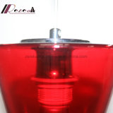 Lámpara pendiente de la alta calidad de cristal roja moderna para la barra