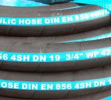 L'acier 4sh d'en 856 s'est développé en spirales boyau en caoutchouc hydraulique pour l'exploitation