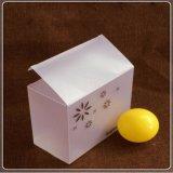 Os fabricantes personalizaram a caixa de dobramento plástica da impressão translúcida