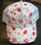 綿の子供の帽子の赤ん坊の帽子は帽子をからかう