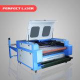 Chiffon en cuir graveur laser CO2 Machine de découpe pour la vente avec le système d'alimentation automatique
