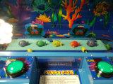 Macchina a gettoni del gioco dei pesci Macchina-Felici del gioco di alta qualità divertente per il più nuovo regalo pazzesco divertente del giocattolo della lager del biglietto di lotteria del coccodrillo dei capretti che colpisce i pesci