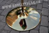 Bandierina palo dorata di alta qualità/d'argento dell'interno ufficiale (B-NF21M03001)