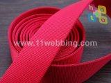 Verde y rojo de nylon Twisted del color de la mezcla de las correas 100m m