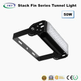 50W LED Tunnel Light Stack Fin Series para uso ao ar livre