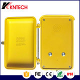 2017産業電話小型マイクロフォンが付いている自動ダイヤル機密保護の電話Knsp-04