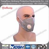 N95使い捨て可能な非編まれた保護塵マスク、黒い弁マスク