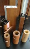 반대로 UV 나무로 되는 곡물 U-PVC 단면도를 위한 외부 훈장 PVC 필름