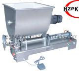 Горизонтальная машина завалки заполнителя затира с смешивая хоппером таможни бака