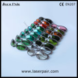 Se divierte el tipo de gafas de seguridad protectoras de las gafas del laser del CO2 con el marco 55