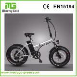 """20 """" [250و] مصغّرة كهربائيّة يطوي درّاجة مع 4.0 دهن إطار العجلة"""