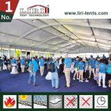 tenda di 25mx80m permanentemente Arcum con tutti gli accessori per l'evento di modo